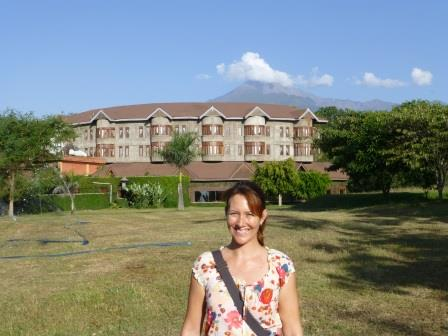 Mt Meru, Ngurdoto lodge and Me