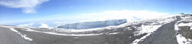 Stunning panoramic at uhuru